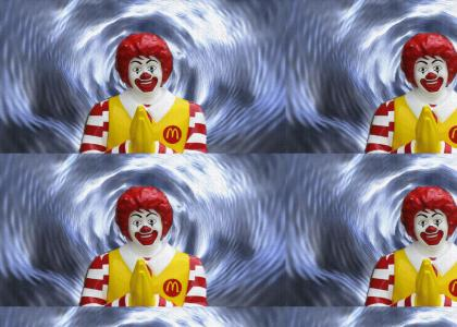 Ronald reaches Enlightenment