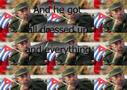 Castro missed the parade!