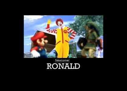 Smash Bros. Brawl Newcomer: Ronald