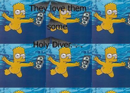 Nirvana and Matt Groening Love Dio