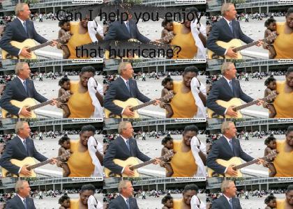 George Bush helps you enjoy...