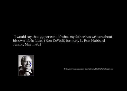 L. Ron Hubbard's Son speaks (updated more quotes)
