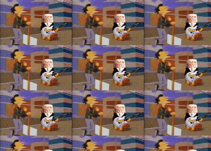 Lenny Enjoys Buckethead