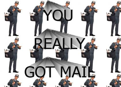 You really got mail