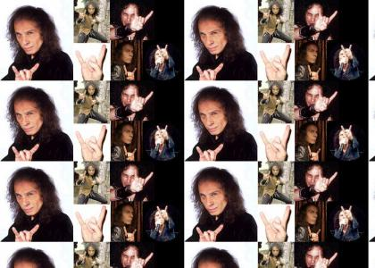 The Creator Of \m/ (Ronnie James Dio)