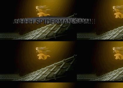 AHHHH SPIDERMAN-SAMA!!!