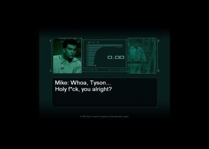 Metal Gear Tyson
