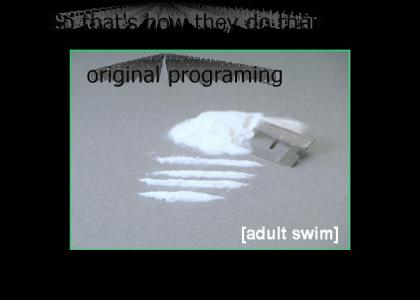 Bumps on Adult Swim