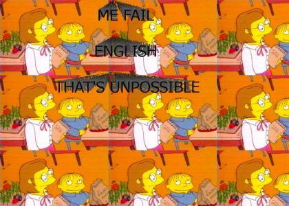 Me Fail English