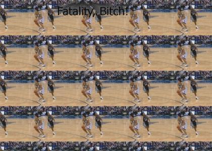 Mortal Kombat!! Bruce Bowen Wins!