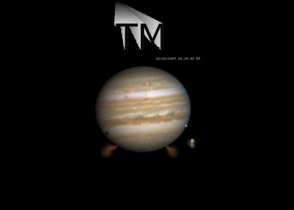 JUPITER... The GAS GIANT.