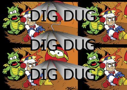 Dig Dug Is Metal