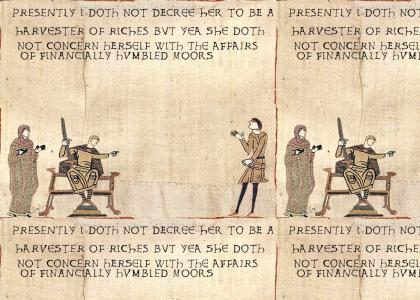 Medieval Golddigger