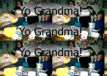 grandmas cameltoe