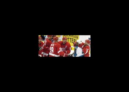 Red Wings hate black people