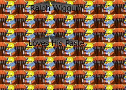 Ralph Wiggum Loves Paste