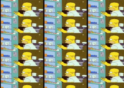 homer's epic save