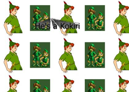 Peter pan never had to worry about growing up