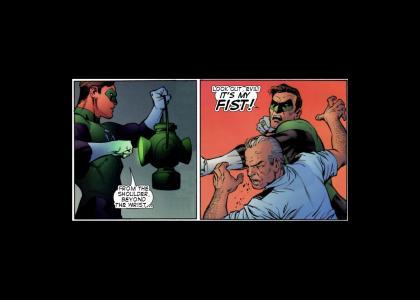 New Green Lantern Oath