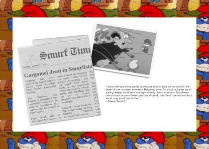 GARGAMEL DEAD IN SMURFISTAN