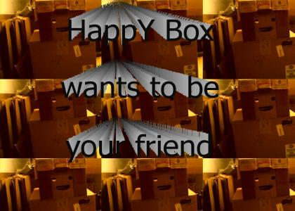 Happy Box wants to be your friend