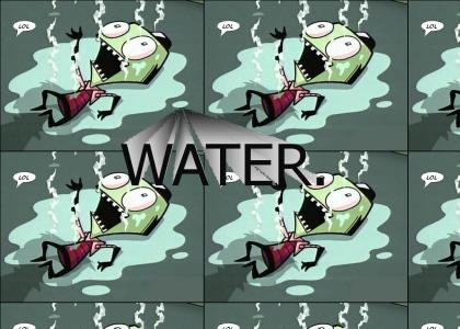 Invader Zim has ONE weakness