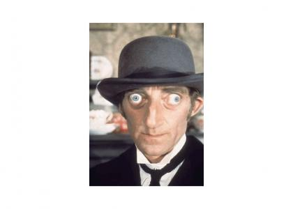 marty feldman is beautiful (now with 64% more beautiful)