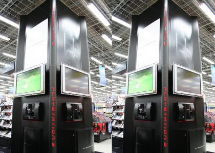 The PS3 has come to conquer Wal*Mart