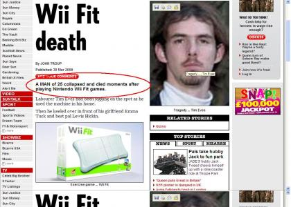 Wii Safety Not Guaranteed