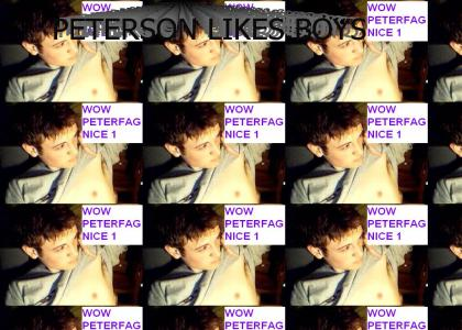 petersons a fag