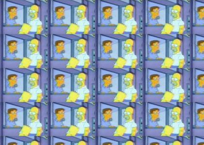 homer pretends to be Mr. Burns