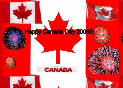 Happy 139th Birthday Canada (July 1st 2006)