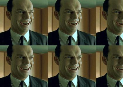 Agent Smith Is An Evil Robot!
