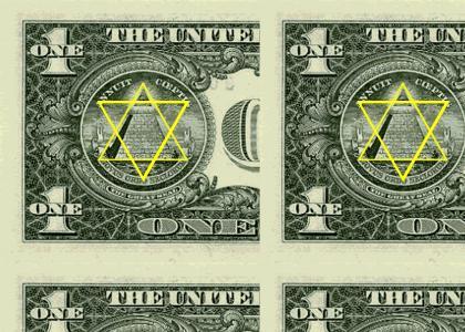 OMG, Secret Jewish Dollar !!