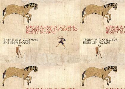 Medieval Enemy Horse