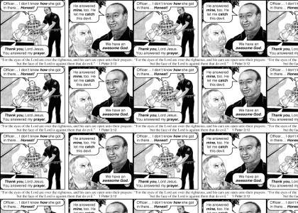 Jack Chick's God = Awesome God
