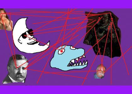 EPICTMND: BARON LASERS VS MOONMAN VS PREHISTORIC DINOSAUR VS QUIZNOS BITCH VS WILFORD BRIMLEY'S DIABEETUS VS TEDDY ROOSEVEL