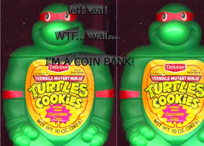 Turtles Cookies!...No Tropical Oils! Artificially Flavoured!
