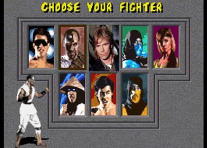 Macgyver Joins Mortal Kombat!!!