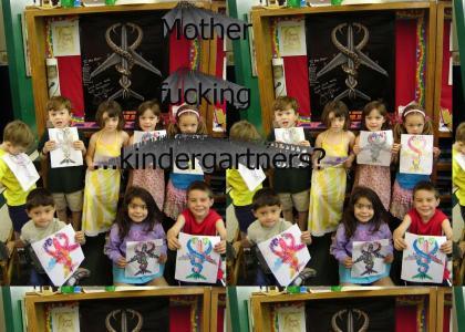 SNAKES on a kindergarten!!!