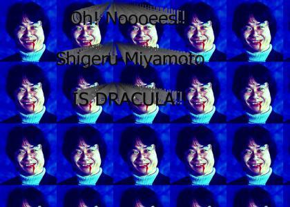 Shigeru Miyamoto Is Dracula