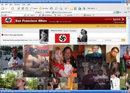 Niners dotcom Nazi Forum