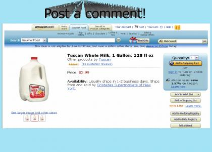 Awesome Milk *now with YTMND comments*