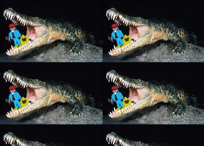 Alligator ate my Playmobil
