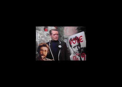 John Lennon Mocks Number 9