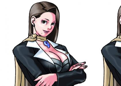 Phoenix Wright: Mia is Single Female Lawyer