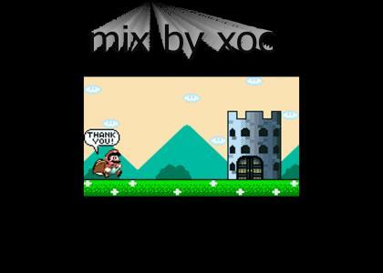 SUPER MARIO WORLD - castle (rock mix)