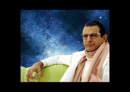 Jeff Goldblum ponders the universe