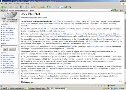 Jack Churchill>>>>>>Chuck Norris
