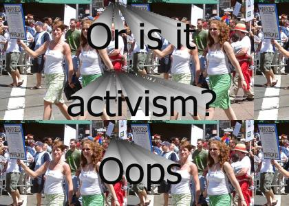 Lesbian action!